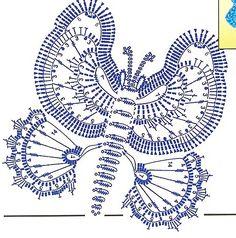 http://crochetpedia.blogspot.com/2013/03/2d-crochet-butterfly-applique.html