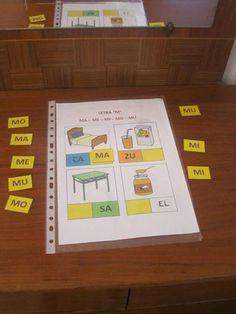 """MATERIALES - """"Cuadernos lecto-fonológicos"""". Ver descripción en el apartado de materiales de ARASAAC."""