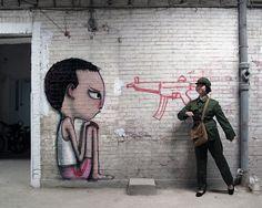 A arte de rua de um Pintor do Mundo 19