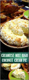 52 Ways to Cook: Creamiest Mile High COCONUT CREAM PIE (and Easiest) - 52 Holiday Cakes and Pies at Home