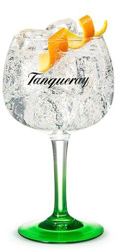 Tanqueray & Tonic With Orange Peel