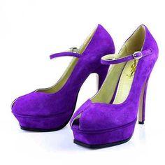 Purple YSLs, yes please!