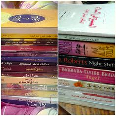 my books from the last book fair
