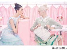 Louis Vouitton pastels