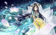 Taurus, by Shiitake Manga Anime, Manga Girl, Anime Girl Hot, Japanese Illustration, Manga Illustration, Anime Fairy, Manga Artist, Female Anime, Beautiful Anime Girl