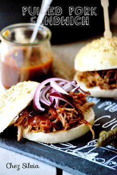 CHEZ SILVIA: Pulled Pork sandwich { receta en olla expres}
