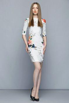 ... Women dress 2016 summer high quality women's print dresses fashion fashion lady clothing one-piece ...