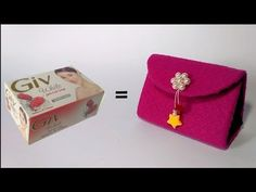 Ide Kreatif dan Tak Terduga Dari Barang Bekas || Best out of waste soap boxes craft idea - YouTube Cool Paper Crafts, Diy Crafts For Gifts, Easy Crafts, Arts And Crafts, Art N Craft, Craft Work, Diy Purse, Clutch Purse, Soap Boxes