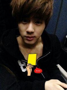 bangtan member uploads pic of jin