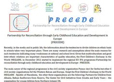 Partnership for Reconciliation through Early Childhood Education and Development in Europe  (PRECEDE)