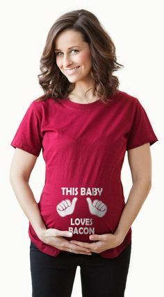 99c04fbbbd4 Search results for   this baby loves bacon maternity shirt
