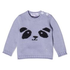 Bonnie Baby AW14 Panda Knitted Jumper
