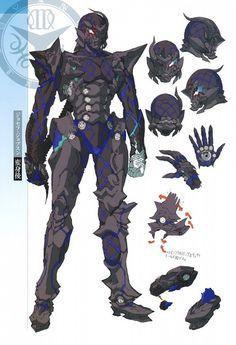 Armor Concept, Concept Art, Character Concept, Character Art, Space Opera, Sci Fi Armor, Bd Comics, Suit Of Armor, Robot Design