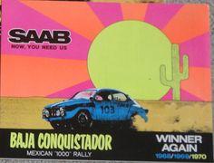 Saab Baja Conquistador  1970