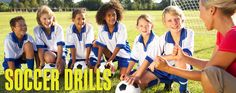 Soccer Drills for youth soccer practice