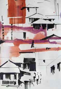 Urban Sketchers: Recent sketches...by Sanjeev Joshi
