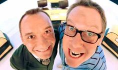 Vic Reeves and Bob Mortimer's panel show, Shooting Stars, is returning for a full series this autumn. By Ben Dowell Vic Reeves, Comedy Actors, Tv Station, British Comedy, Monty Python, Star Party, Shooting Stars, New Series, Haha Funny