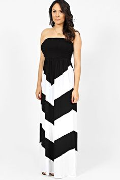 Something About Chevron - Strapless