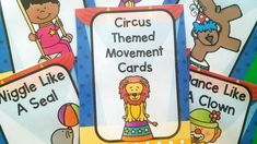 Movement Cards | Pink Oatmeal SHOP