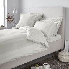 Monmouth Stripe Bed Linen Collection | Bedlinen AW16 Main | Seasonal | The White…