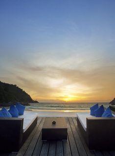Sunset Beach Photograph  - Sunset Beach Fine Art Print  Thailand.