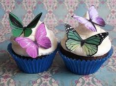 Make a ho hum cupcake beautiful with butterfly accents!