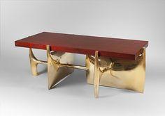 LUXURY FURNITURE | luxury dining table with brass modern base  | bocadolobo.com/ #luxuryfurniture #designfurniture