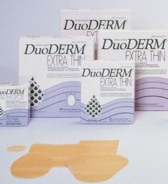 "Amazon.com: DuoDERM Extra Thin CGF Dressing - 4 x 4"" - Box of 10: Health & Personal Care"