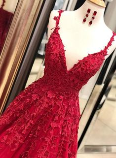 Burgundy v neck tulle lace long prom dress, burgundy evening dress, Customized service and Rush order are available Grad Dresses, Prom Dresses Blue, Cheap Prom Dresses, Club Dresses, Pretty Dresses, Sexy Dresses, Beautiful Dresses, Homecoming Dresses, Prom Dress Shopping