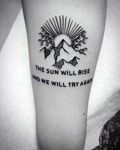50 minimalist mountain tattoo ideas for men - outdoor landscape design . - 50 Minimalist Mountain Tattoo Ideas For Men – Outdoor Landscape Designs - Berg Tattoo, 16 Tattoo, Tattoo Diy, Shape Tattoo, Tattoo Fonts, Tattoo Quotes, Tiny Tattoo, Mens Henna Tattoo, Tattoo For Man