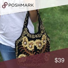 Boho embroidery Cross-body bag ! ❤️ Gorgeous embroidered women's bag! Suzani style ! Bags Shoulder Bags