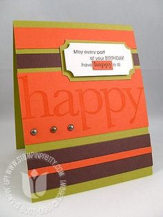 "like this layout would be fun with other color combinations too--could print the ""happy"""