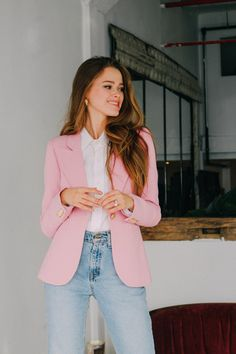 10 Fancy Blazer Outfits Ideas For Women To Try 024 Preppy Summer Outfits, Spring Outfits, Green Outfits, Holiday Outfits, Night Outfits, Blazer Outfits, Lookbook, Elegant Outfit, Ladies Dress Design