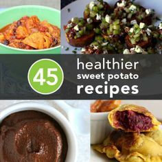 45 Delicious  Healthy Sweet Potato Recipes