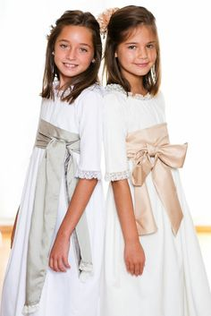 Mivestido Saint Tropez, Cute Dresses, Flower Girl Dresses, Maid Dress, Communion Dresses, Heirloom Sewing, First Communion, Princess Wedding, Girl Model