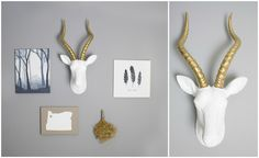 Add Style to Any Home with Near & Deer Faux Taxidermy + GIVEAWAY
