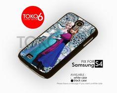 AJ 3673 Queen and Princess Frozen - Samsung Galaxy S IV Case | toko6 - Accessories on ArtFire