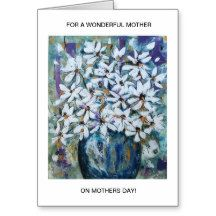 Aggelikis Floral Tribute Mothers Day Card