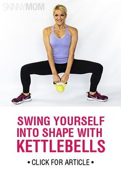 If you ever wondered what to do with those heavy, handled iron balls, here is a great kettlebell circuit that will surely leave you out of breath, but in great shape!