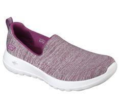 c9d2e4f37cf Women s Skechers Go Walk Joy Enchant Slip-On Walking Shoe - Raspberry Walking  Shoes