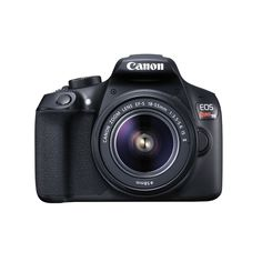 "Canon EOS Rebel T6 18 Megapixel Digital SLR Camera with Lens - 18 mm - 55 mm - 3"" LCD - 16:9 - 3.1x Optical Zoom - TTL - 5184 x 3456 Image - 1920 x 1080 Video - HDMI - PictBridge - HD Movie Mode - Wir"