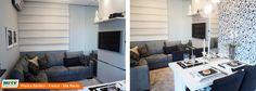 Apartamento decorado 2 dormitórios do Parque Franca Garden no bairro Santa Cruz - Franca - SP - MRV Engenharia - Sala de TV