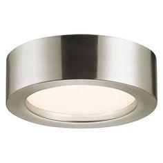 Sonneman Lighting Sonneman Lighting Puck Polished Nickel LED Flushmount Light 3723.35