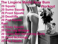 Workout For a Sexy Bum.