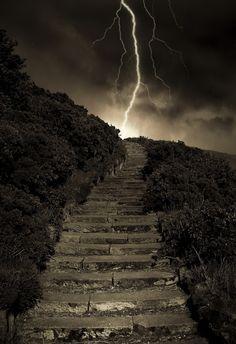 Arthur's Steps, Edinburgh, Scotland