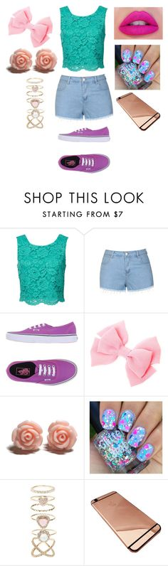 """""""A girl should be like a butterfly, pretty to see, hard to catch"""" by sorry-im-me ❤ liked on Polyvore featuring Ally Fashion, Vans, Accessorize, women's clothing, women, female, woman, misses and juniors"""