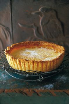 Maggie Beer's lemon tart Recipe: Maggie Beer's lemon tart: Maggie Beer shares a recipe from her new book with Vogue Living.Recipe: Maggie Beer's lemon tart: Maggie Beer shares a recipe from her new book with Vogue Living. Beer Recipes, Lemon Recipes, Tart Recipes, Baking Recipes, Recipies, Köstliche Desserts, Delicious Desserts, Dessert Recipes, Yummy Food