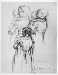 Mother and Child by Kathe Kollwitz