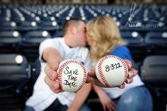 Softball Wedding, Sports Wedding, Wedding Pics, Our Wedding, Dream Wedding, Wedding Ideas, Wedding Stuff, Pirate Wedding, Field Wedding