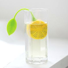 Creative Lemon Silicone Tea Infuser Kitchen Gadgets